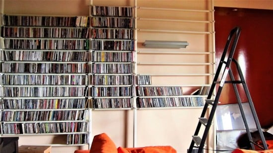 Stolmen as CD storage
