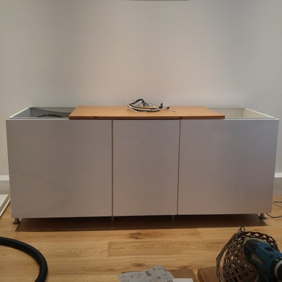 3-ikea metod TV unit