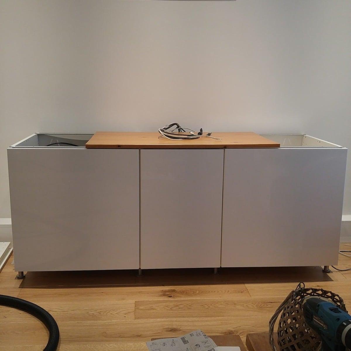 IKEA METOD cabinets into AV unit - IKEA Hackers - IKEA Hackers