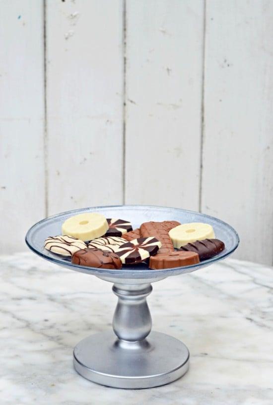 DIY IKEA cake stand-3