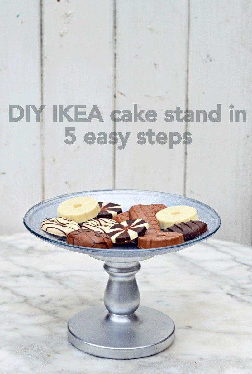 Make Your Own Decoupaged Ikea Cake Stand Ikea Hackers