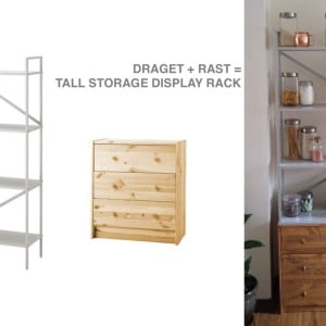 Ikea hackers clever ideas and hacks for your ikea page 3 for Ikea draget