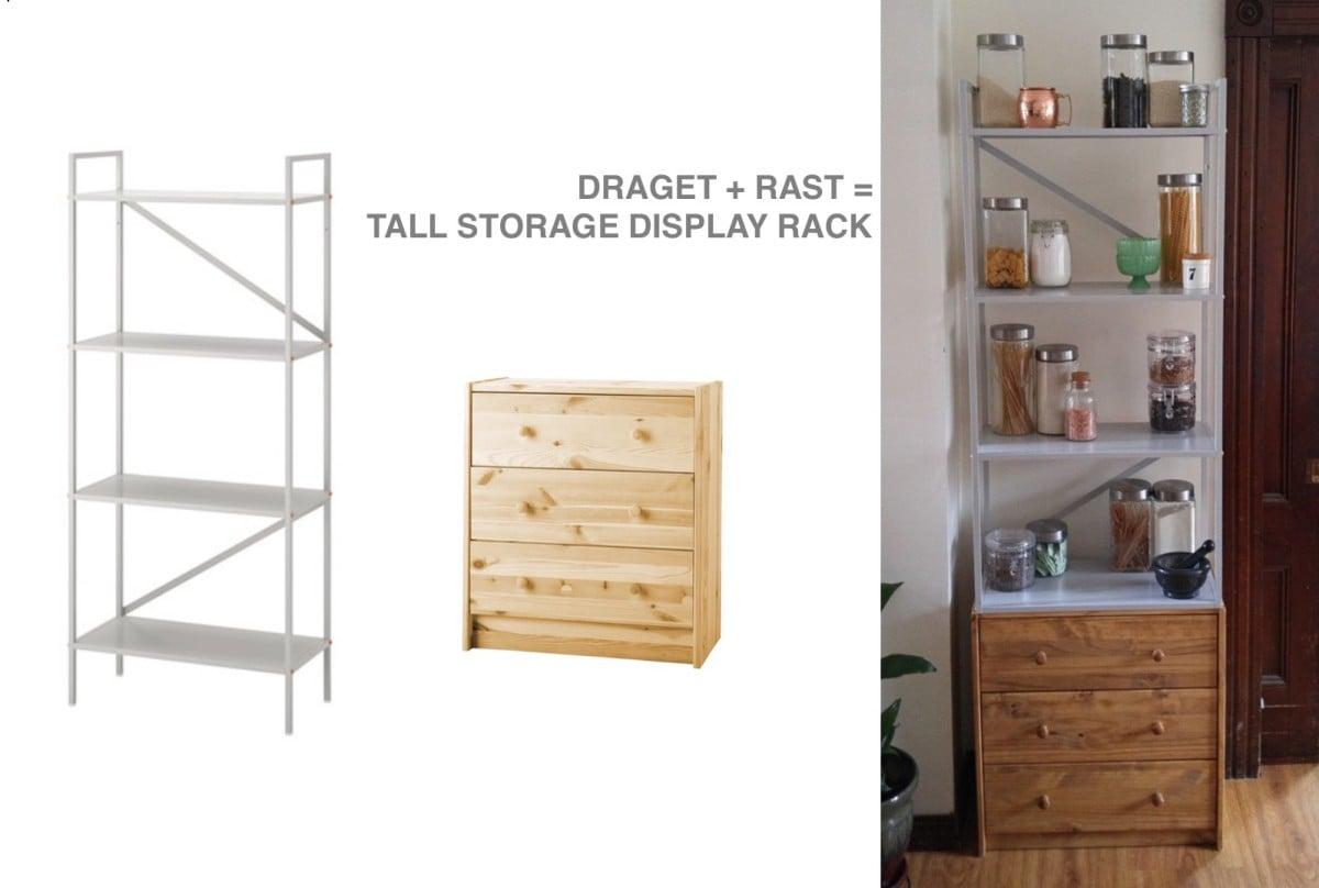DRAGET+RASTu003d Tall Storage Display Unit