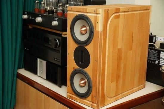 DIY Hi-end Speaker hacked from LAMPLIG chopping board