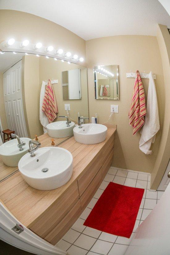 IKEA Godmorgon bathroom remodel