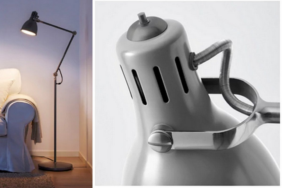Ikea Ranarp Lamp : Hackers help switch ranarp shade onto arÖd floor lamp stand