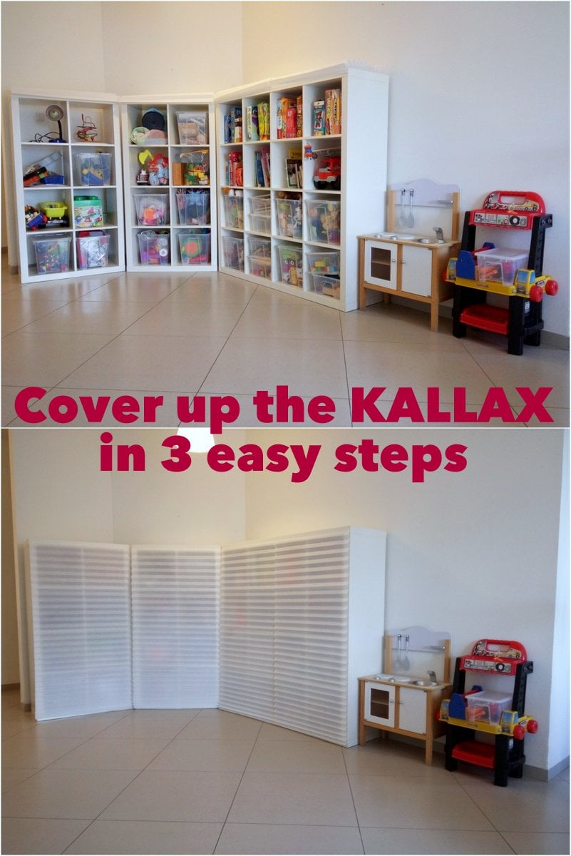 cover up the kallax in 3 easy steps ikea hackers ikea hackers. Black Bedroom Furniture Sets. Home Design Ideas