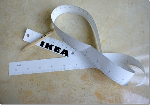 photograph relating to Printable Measuring Tapes identify 3D Printable IKEA Tape Evaluate - IKEA Hackers