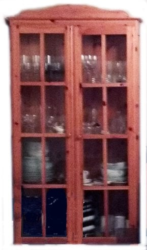 Unidentified IKEA display cabinet