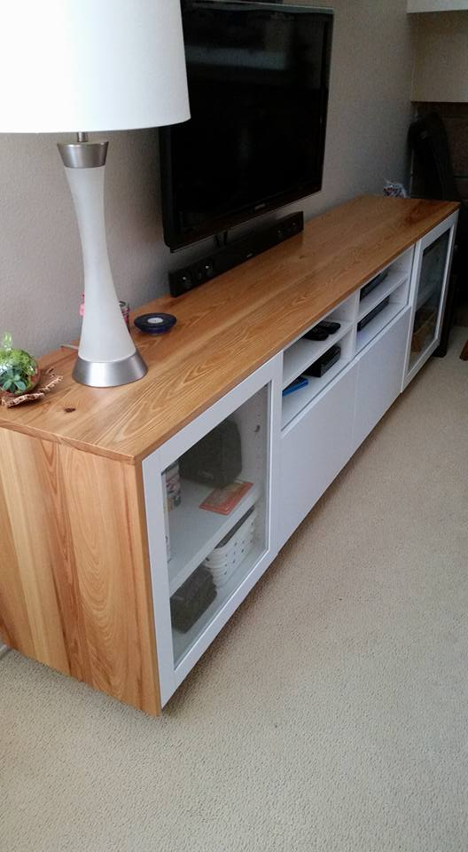 wood you like to give your ikea best tv unit a new look ikea hackers ikea hackers. Black Bedroom Furniture Sets. Home Design Ideas