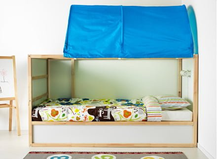 Hackers Help Slatted Bed Base For Kura Ikea Hackers
