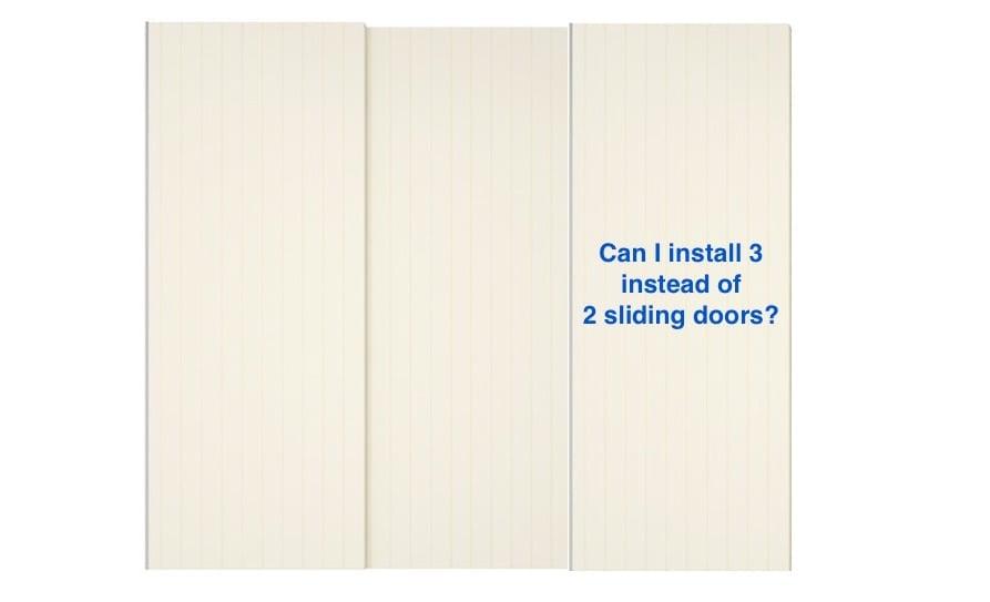 Add third door to PAX