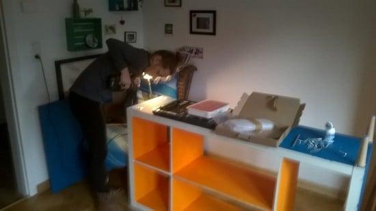 sideboard cabinet insides