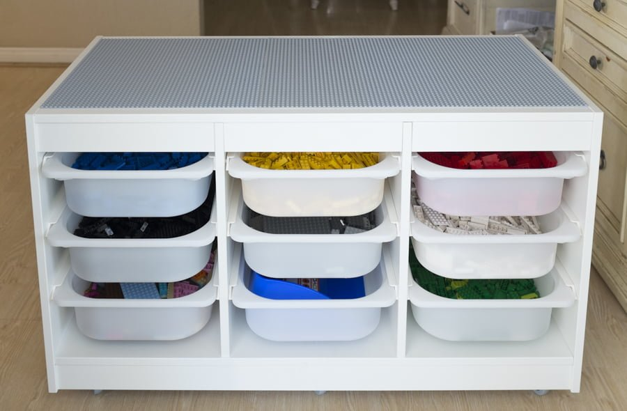 How To Store And Organize 9000 Lego Bricks Ikea Hackers
