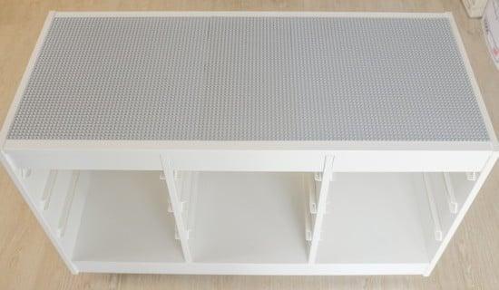 Grey LEGO base plates