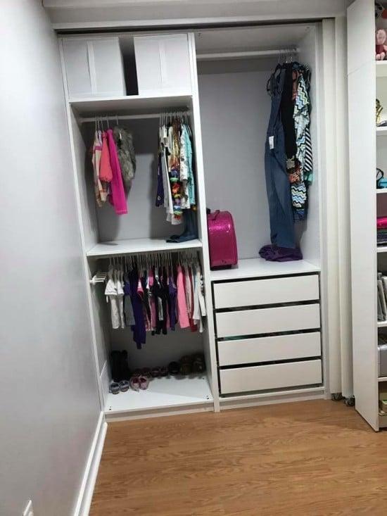 PAX wardrobe storage