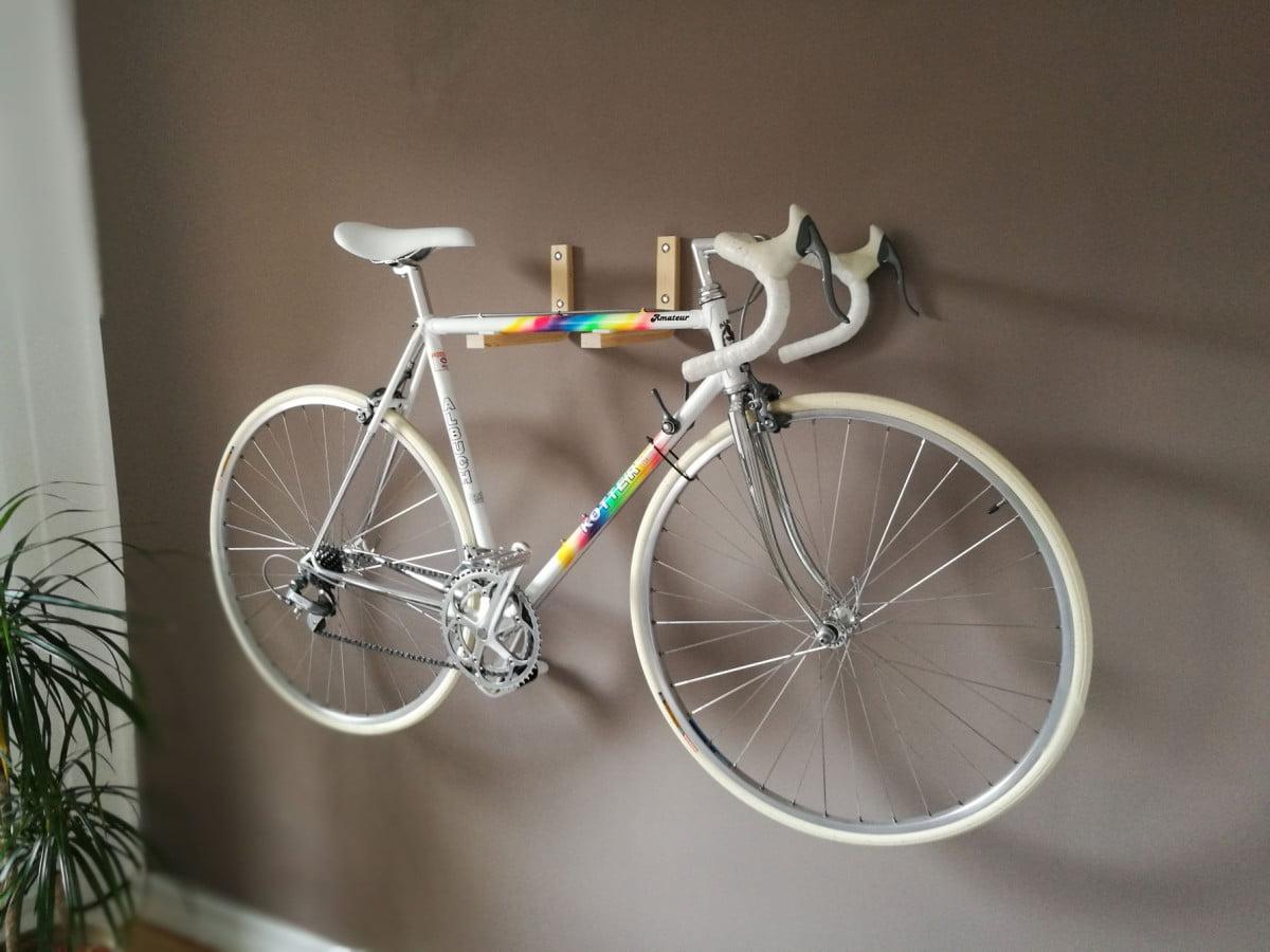frosta bike wall mount ikea hackers ikea hackers. Black Bedroom Furniture Sets. Home Design Ideas