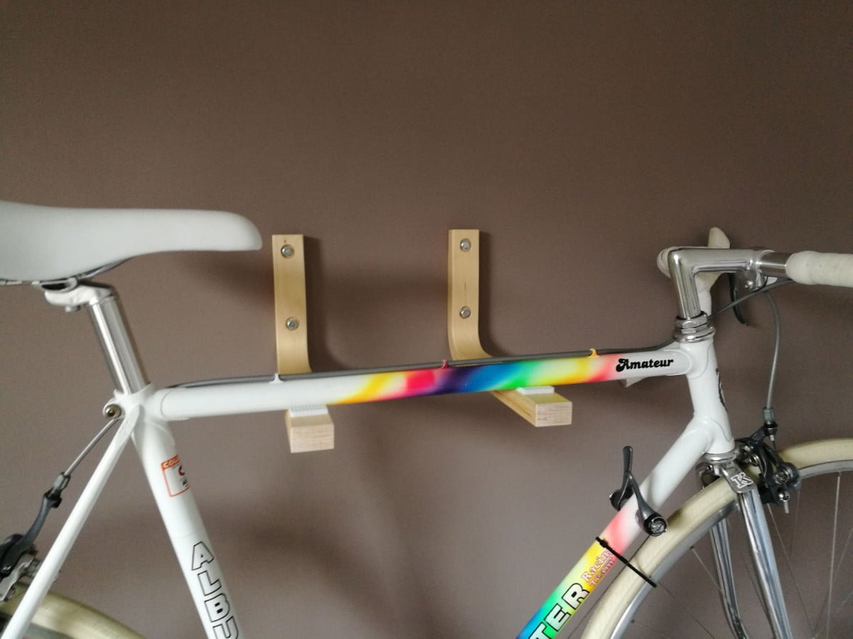frosta bike wall mount ikea hackers. Black Bedroom Furniture Sets. Home Design Ideas