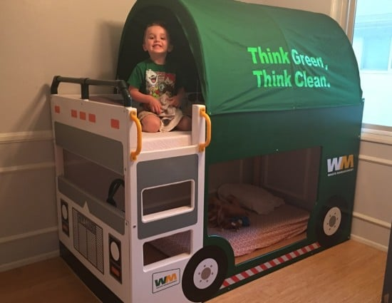 Kura trash truck bed ikea hackers ikea hackers - Ikea fire truck bed ...