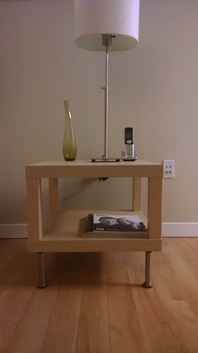 Lack Side Table With Capita Legs Ikea Hackers Ikea Hackers