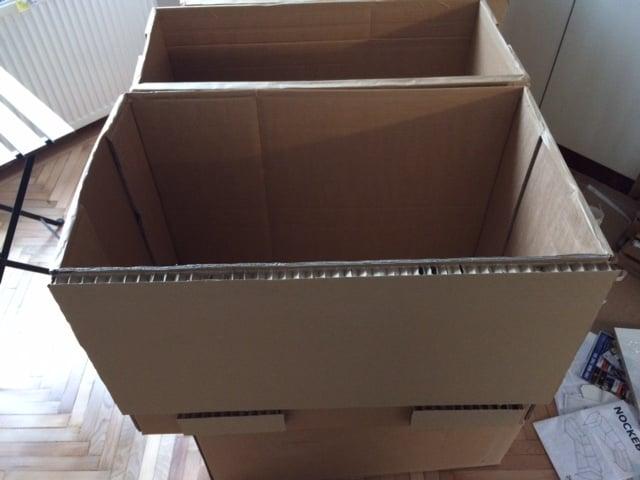 Cardboard Cupboard Sofa Packaging Ikea Hackers Ikea