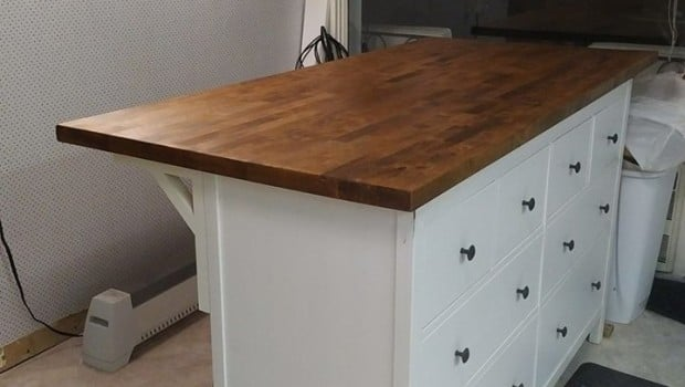 Ikea Kitchen Island Oak