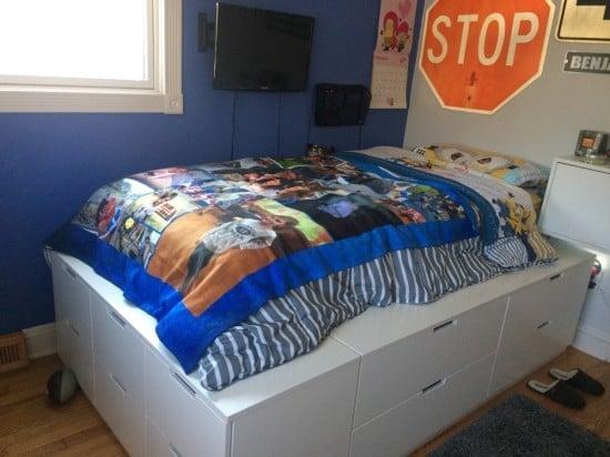 IKEA nordli hack. DIY platform bed