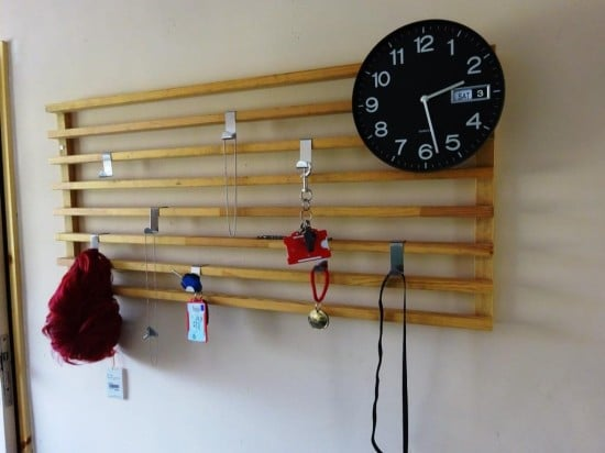 A full length wall storage solution