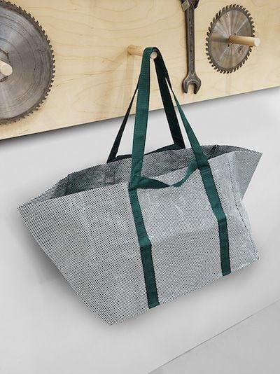 IKEA blue bags madeover by HAY