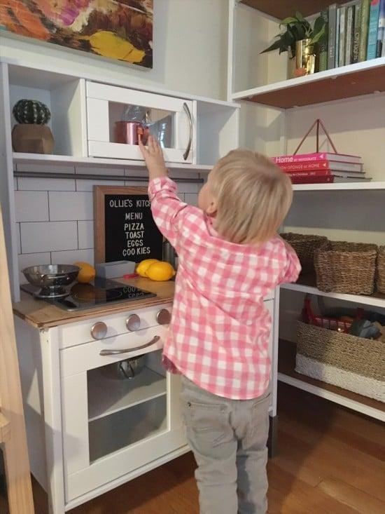 IKEA DUKTIG kitchen upgrade