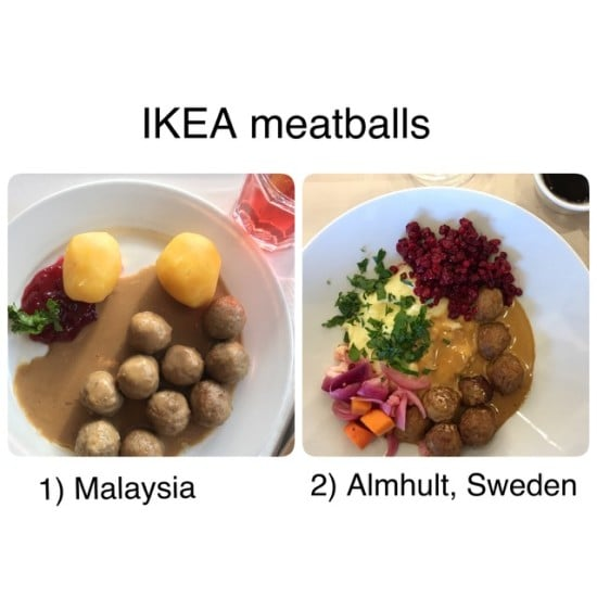 Ate any Swedish meatballs lately""