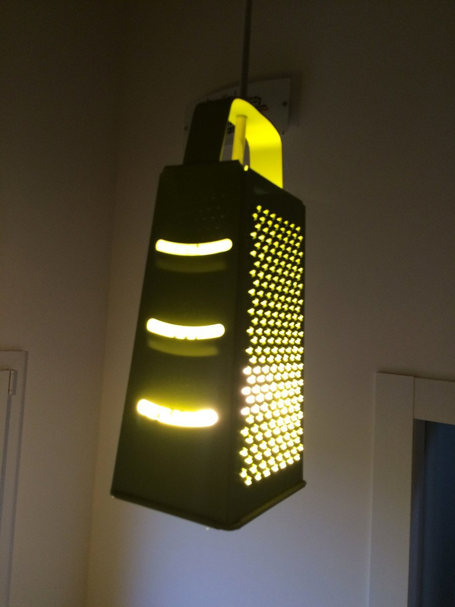 Make This Unusual Lamp For Your Kitchen Ikea Hackers