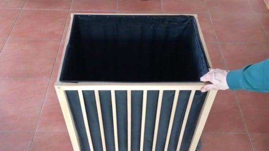 DIY large capacity laundry basket