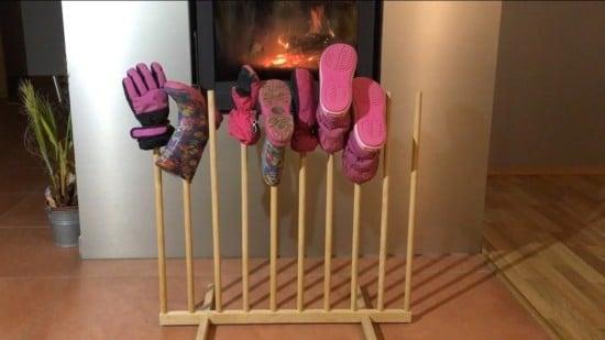 Portable drying rack from SNIGLAR crib