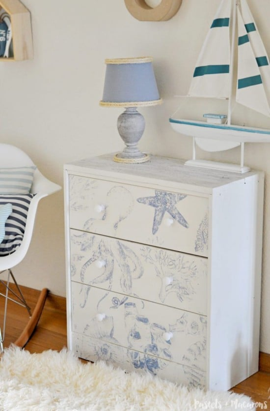 Stunning Nautical Ikea Rast Hack for the Beach House Lover