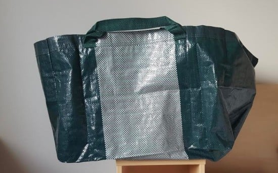 IKEA HAY blue bag
