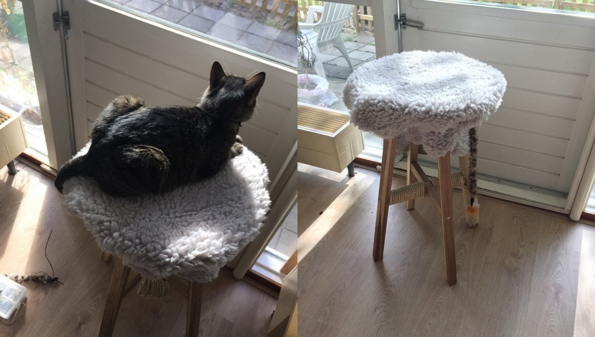 Light Scratching Post For Heavy Cat Ikea Hackers