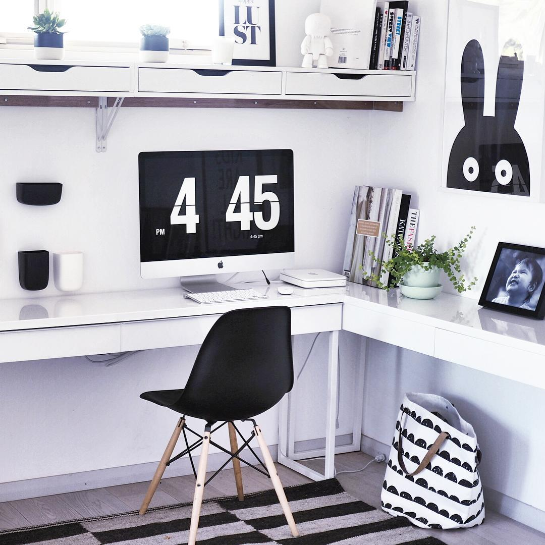 6 Ikea L Shaped Desks To Boost Productivity Ikea Hackers
