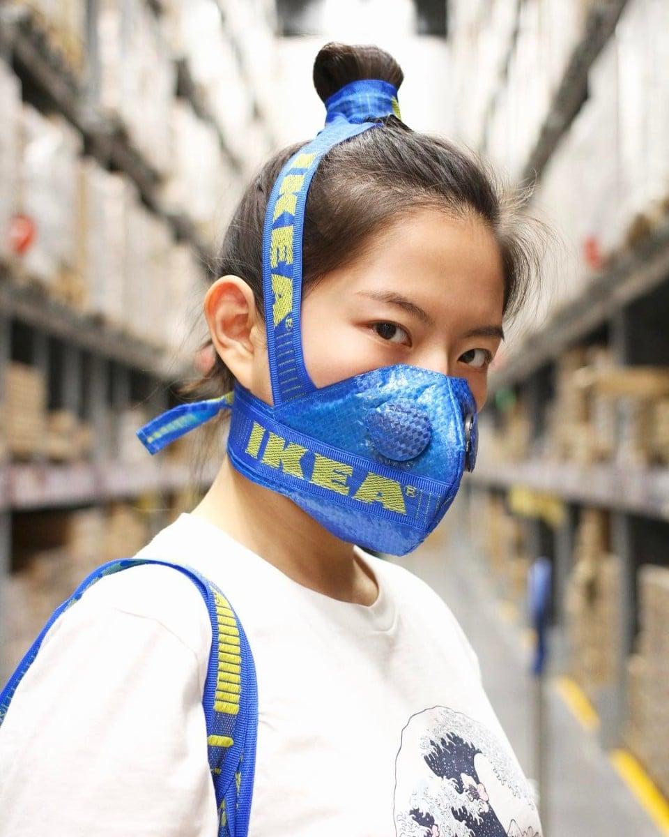 IKEA DIY face mask