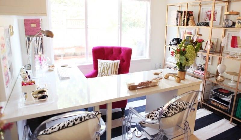 Full Office L Shaped Desk
