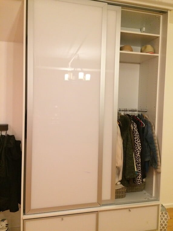 old unknown IKEA wardrobe