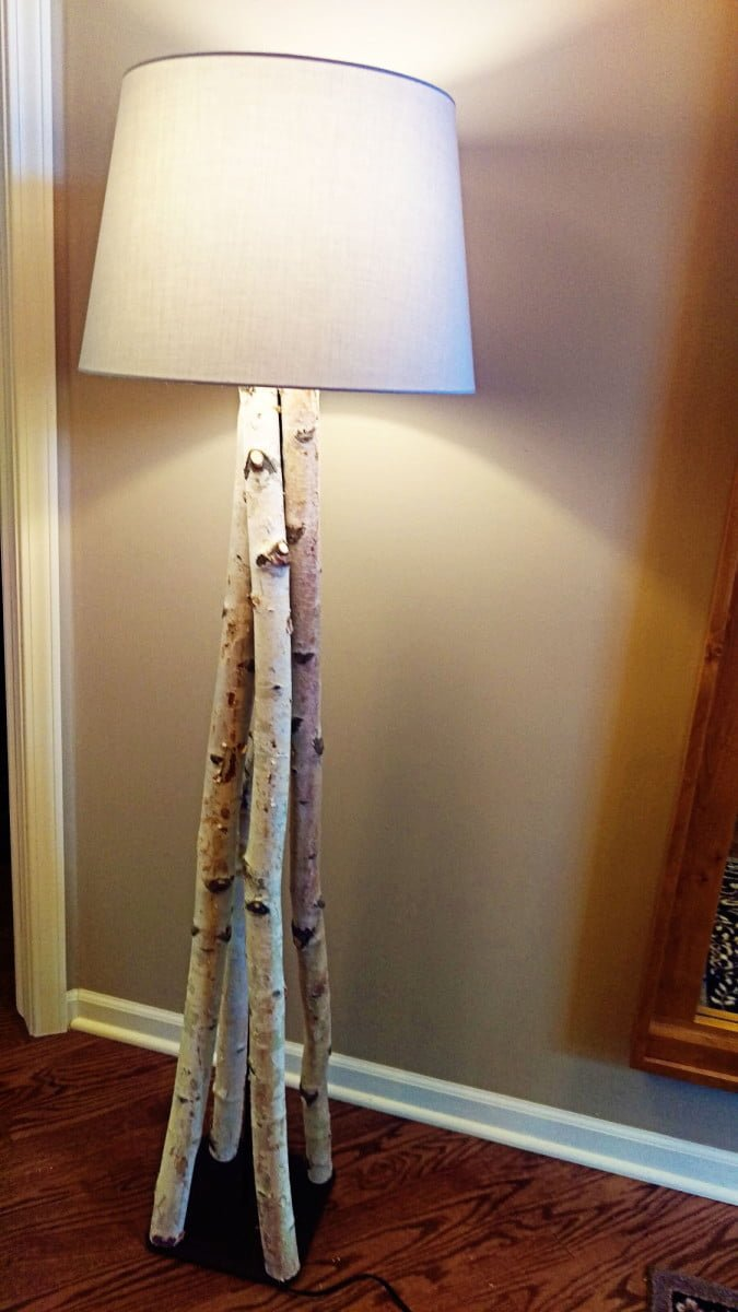beautiful birch branch floor lamp ikea hackers ikea. Black Bedroom Furniture Sets. Home Design Ideas
