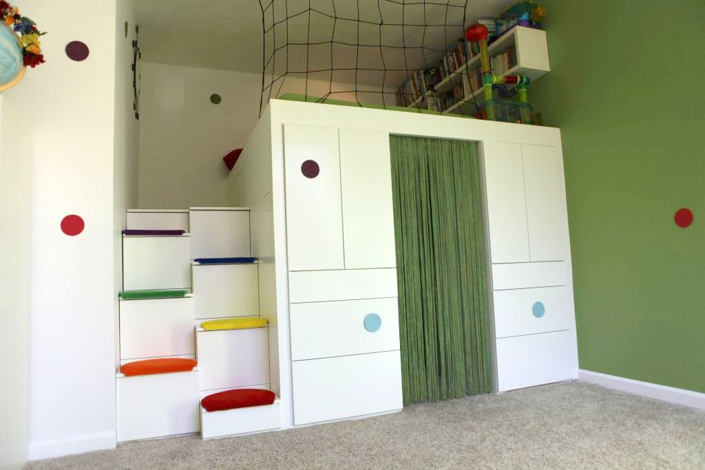 Help! How to DIY a king size loft bed? - IKEA Hackers