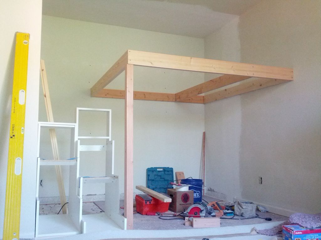 Construction of a support frame
