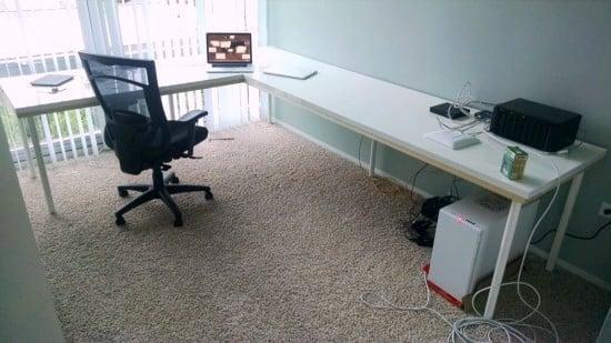 Linnmon Ikea L Shaped Desk