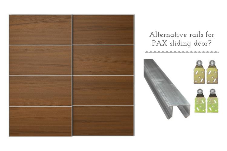 Ikea Pax Sliding Door Rails Alternatives