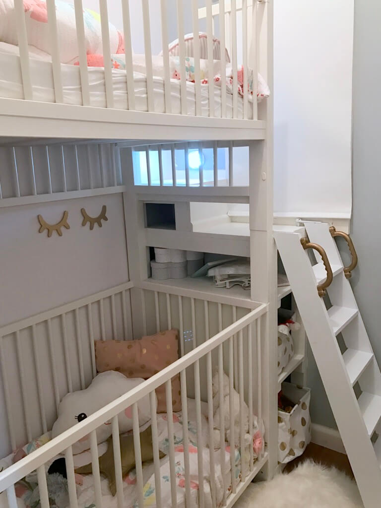 GULLIVER crib bunk bed