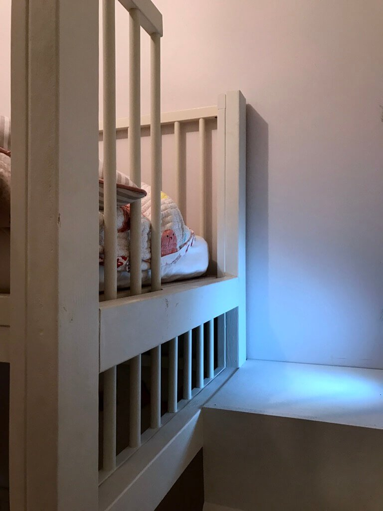 Crib bunk bed hacked from IKEA GULLIVER cots - IKEA Hackers