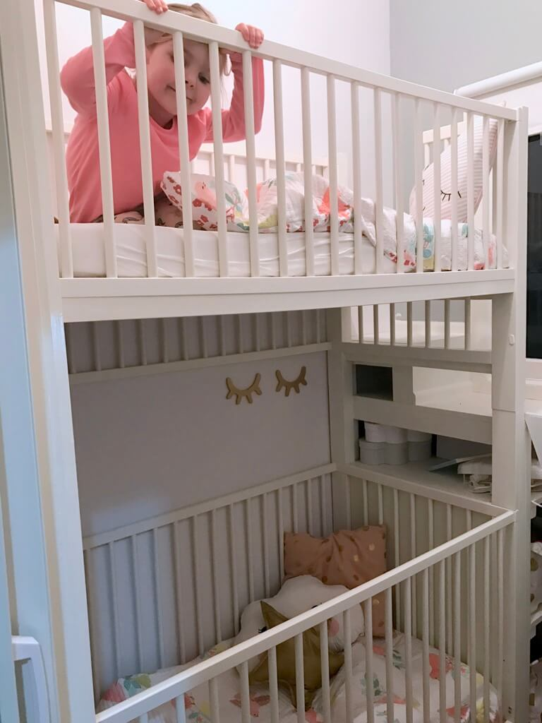 Crib Bunk Bed Hacked From Ikea Gulliver Cots Ikea