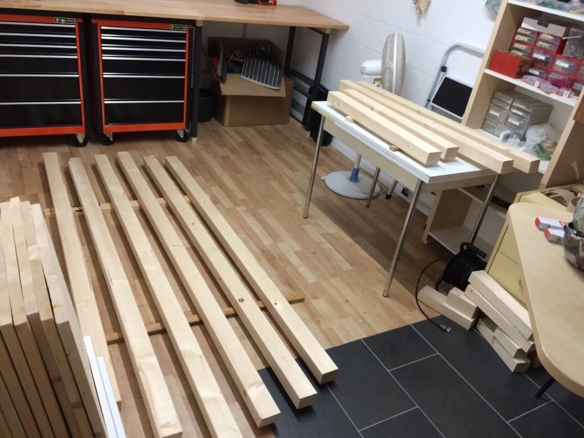 Material for KALLAX Wooden Playhouse